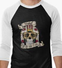 Rebel for Life Men's Baseball ¾ T-Shirt