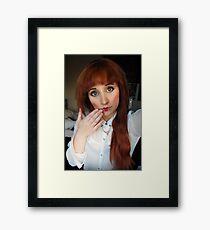 Doll-Selfy Framed Print
