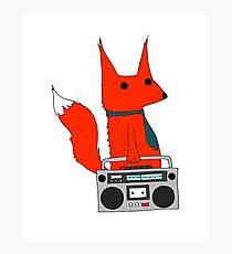 music fox Photographic Print
