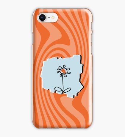 Flower Sketch VRS2 iPhone Case/Skin