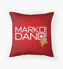 Marko! Dano! Throw Pillow