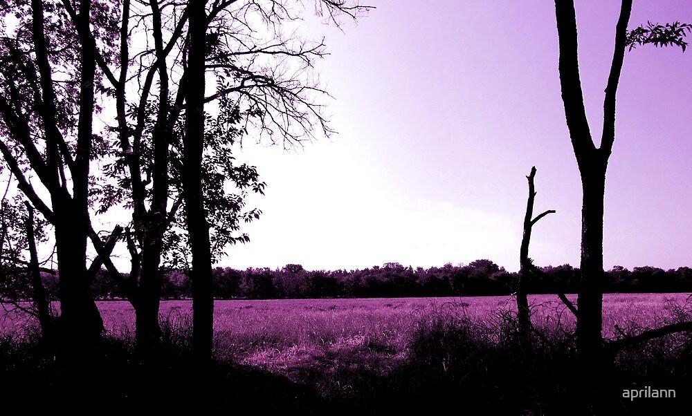 Lavender Landscape by aprilann