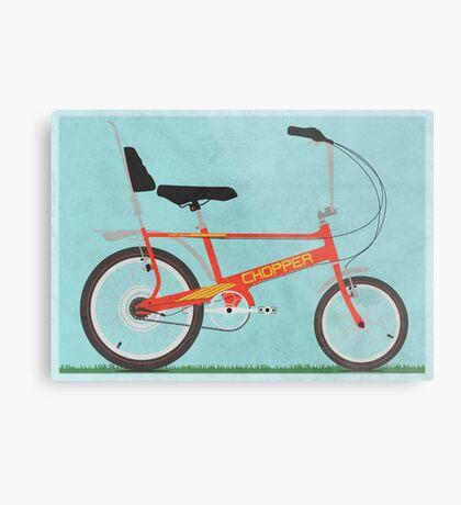 Chopper Bike Metal Print