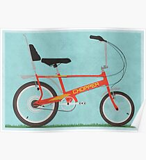 Chopper Bike Poster