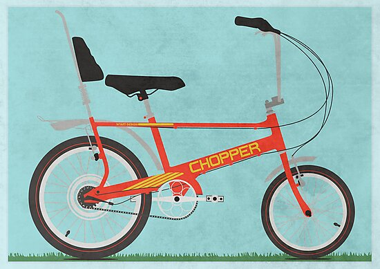 Chopper Bike by Andy Scullion