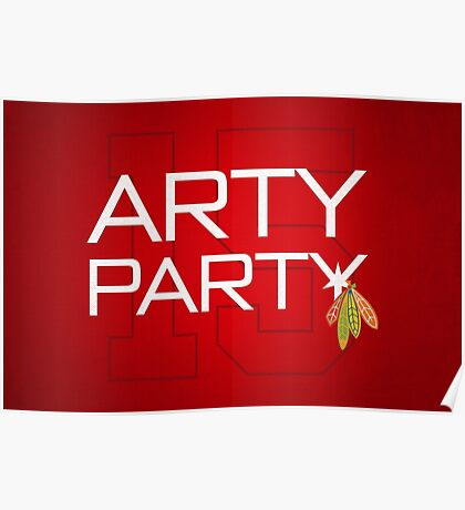 Arty Party Poster