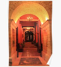 Golden Arched Entry Poster