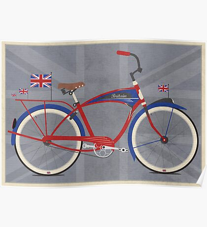 British Bicycle Poster
