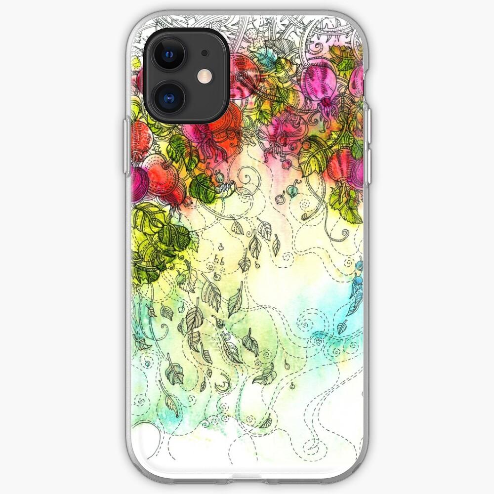 Rose Hips iPhone Soft Case