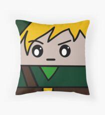 Link Squ'ed Throw Pillow