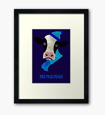 I'm Friesian Framed Print