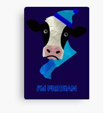 I'm Friesian Canvas Print