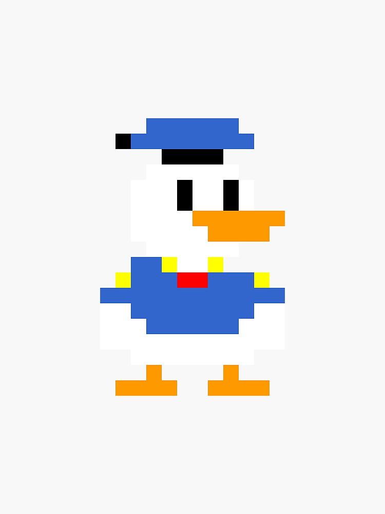 Super Mario Maker Costume - Donald Duck by tehlu9prod