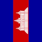 Cambodia Flag by pjwuebker