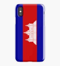 Cambodia Flag iPhone Case