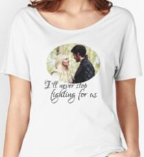Captain Swan + quote Women's Relaxed Fit T-Shirt