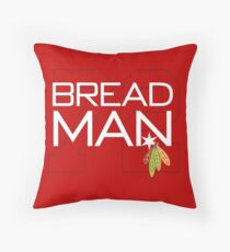Bread Man Throw Pillow