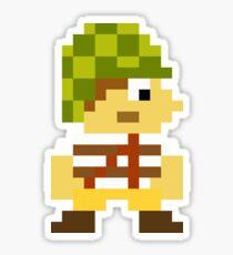 Super Mario Maker Costume - El Chavo Glossy Sticker