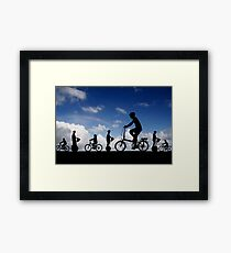 12:12 PM Hawaii Time Framed Print