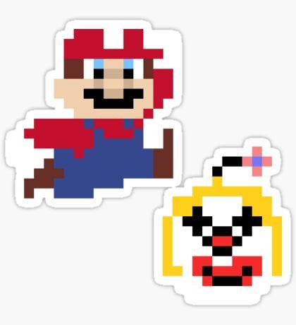 Super Mario Maker Costume - Silvia & Mariola Sticker