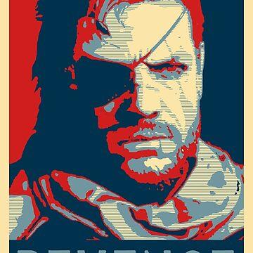 Big Boss for President - Metal Gear Soild V by Hays