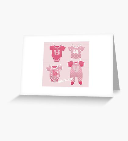 It's a Girl! Greeting Card
