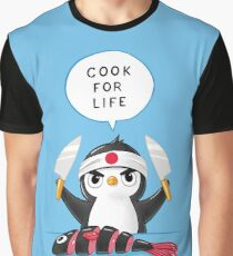 Penguin Chef Graphic T-Shirt