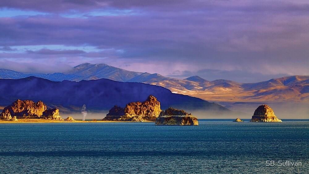 Moods of Pyramid Lake by SB  Sullivan