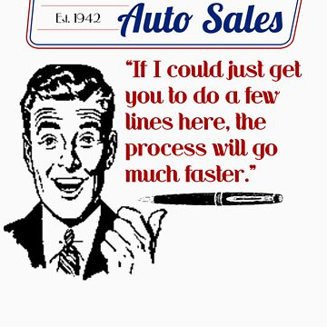 Ben Dover Auto Sales - Do Lines by seldred80