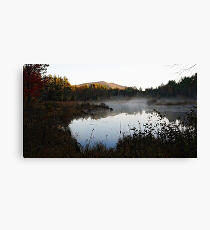 Morning Light - Pleasant Mountain Canvas Print