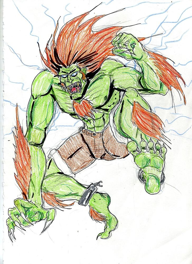 Blanka by Theaven