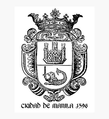 Ciudad de Manila 1596 Photographic Print