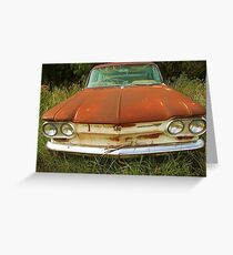 Corvair, Abilene, Texas Greeting Card