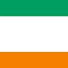 Cote d'Ivoire Flag by pjwuebker