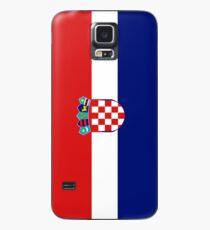 Croatia Flag Hülle & Klebefolie für Samsung Galaxy