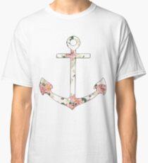 Floral Anchor 1 Classic T-Shirt
