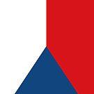 Czech Republic Flag by pjwuebker