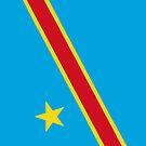 Democratic Republic of the Congo Flag by pjwuebker
