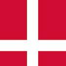 Denmark Flag by pjwuebker