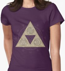"""Balance"" Womens Fitted T-Shirt"
