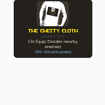Item Unlocked - The Chesty Cloth by DetectiveBerry