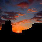 Sunrise Silhouette. by Warren  Patten