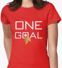 One Goal Women's Fitted T-Shirt