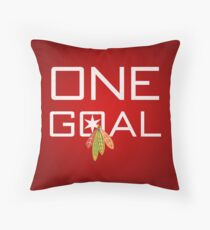 One Goal Throw Pillow