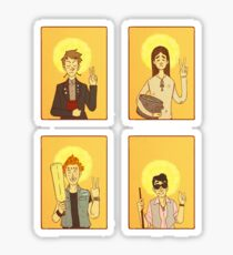 Saint Young Ones Sticker