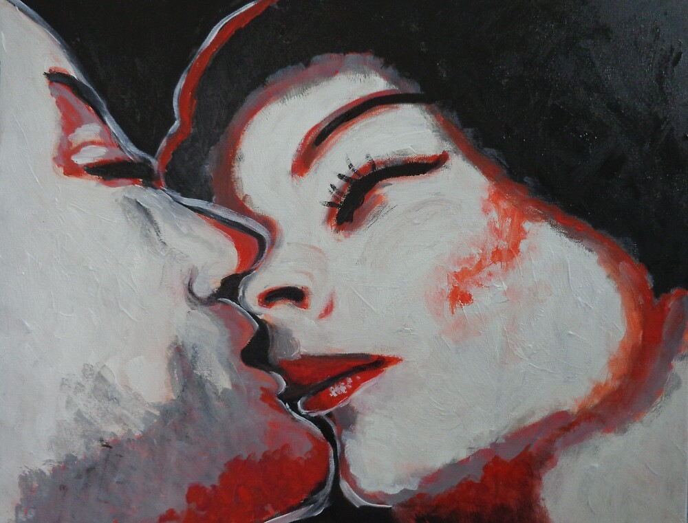 Lovers - Kiss 10 by Carmen Tyrrell