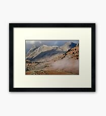 The Langdale Pikes Cumbria Framed Print