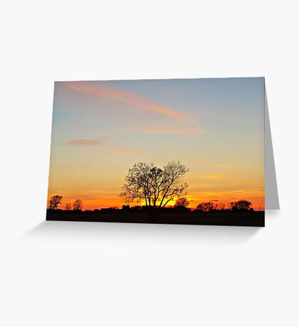 Lonesome Plains Greeting Card