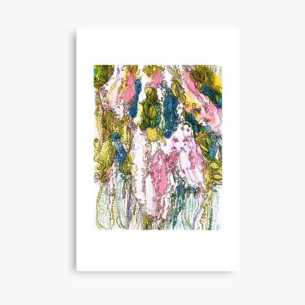 Bird Cherry Blossom Canvas Print