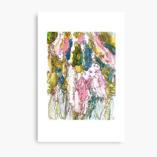 Bird Cherry Blossom Metal Print